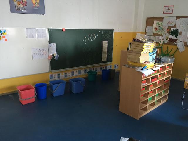 fuga agua en colegio Gurutzeta