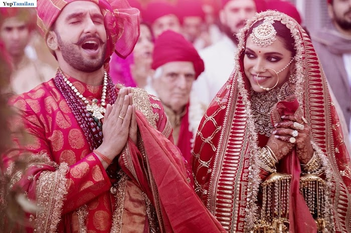 Ranveer Singh and Deepika Padukone Marriage Wedding Photos-Reception Pictures