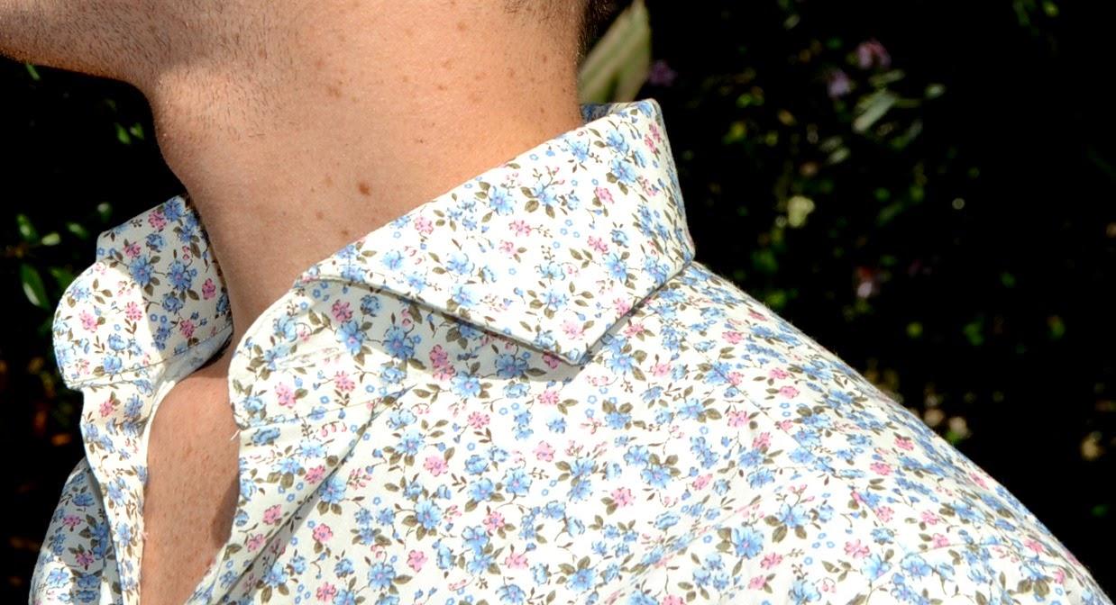 Intanto mi godo ancora queste giornate di sole indossando una della mie  camicie su misura preferite efb5616a554c