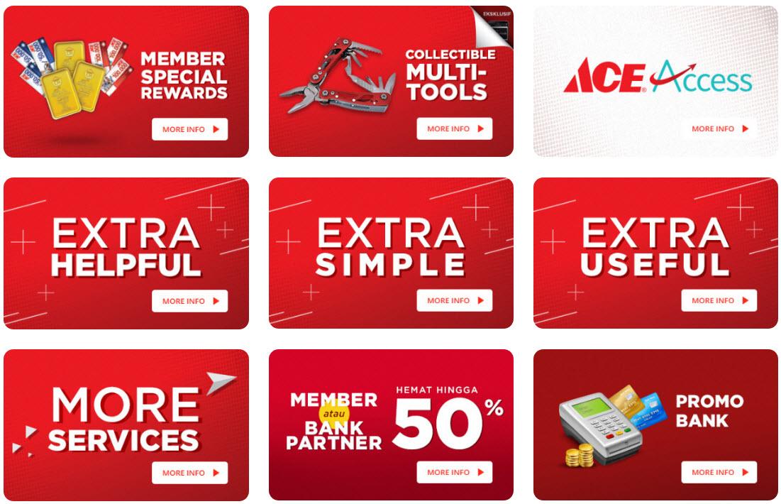 #AceHardware - #Promo Extra Benefit for Everyone & Hadiah Menarik (s.d 26 Feb 2019)