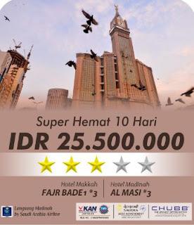 Umroh SUPER HEMAT 10 HARI