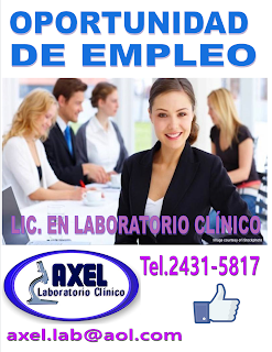 empleo en sonsonate laboratorio clinico