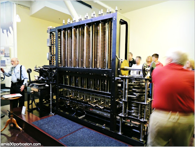 Computer History Museum: The Babbage Difference Engine No. 2