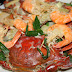 Crab and Shrimps with Coconut Milk