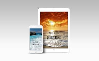 FREEBIE: iPad Pro 9.7 & iPhone 6S Mock Up