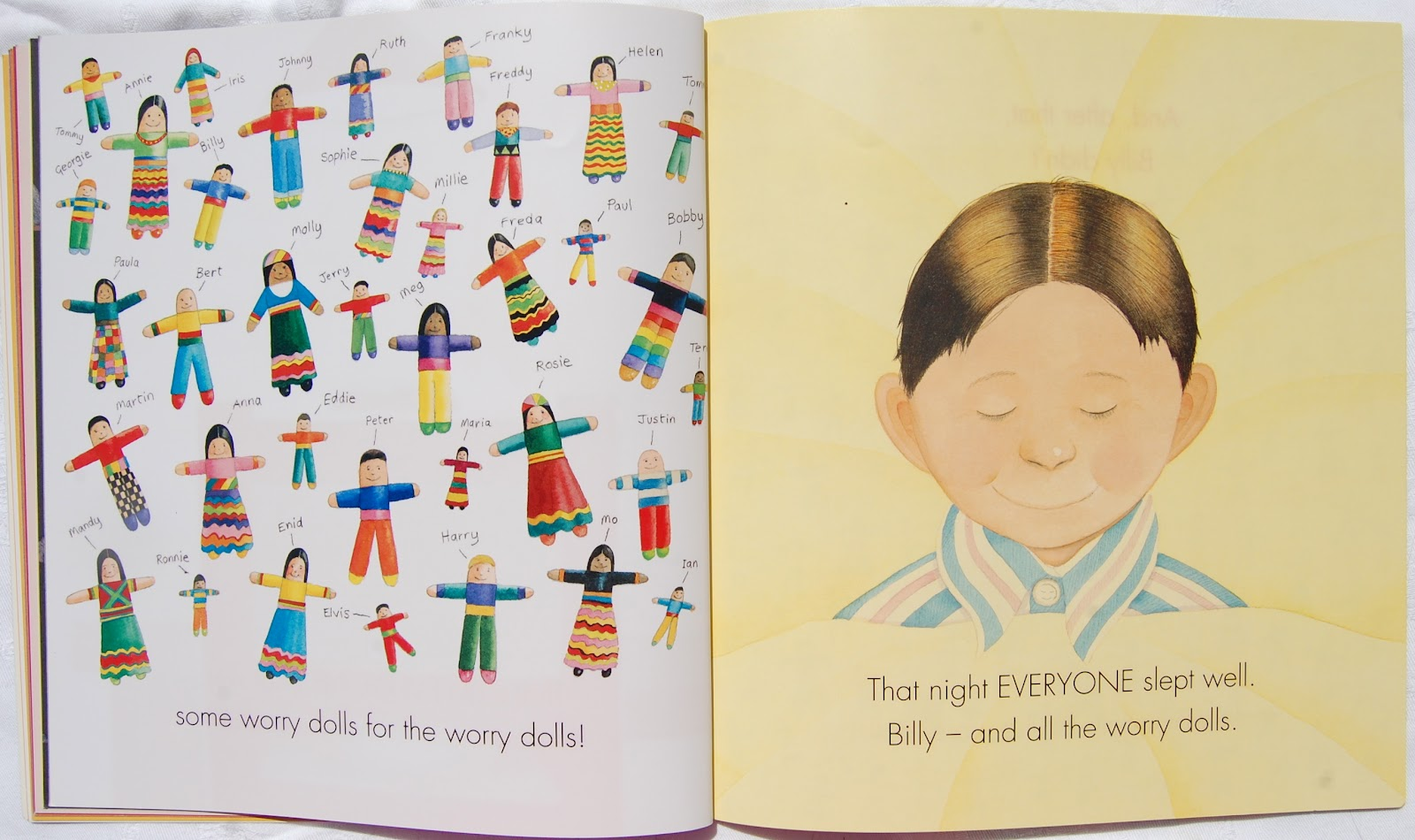 Workbooks willy the wimp worksheets : Picturebooks in ELT: Billy's worry dolls