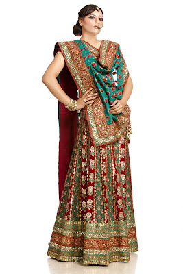 Indian-bridal-lehenga-choli-2017-embroidered-designs-for-brides-6