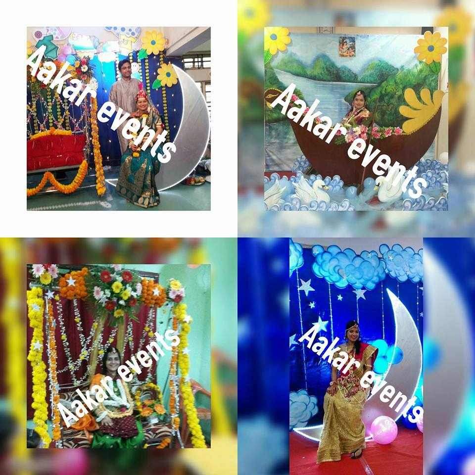 Dohale jevan decoration in mumbai baby shower decoration for Baby palna decoration