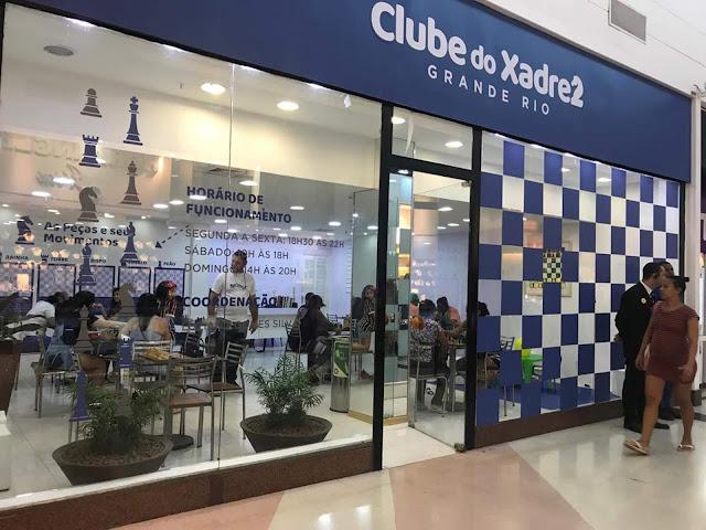 Shopping Grande Rio recebe inédito 'Clube do Xadrez'