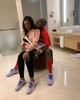 Davido And Chioma All Loved Up In New Photos