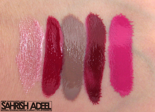 OCC Lip Tars, Sleek Pout Paint & BeautyUK Lip Gloss
