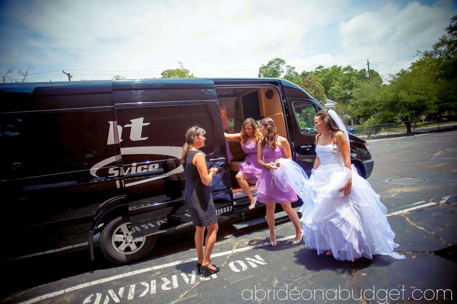 婚礼豪华轿车