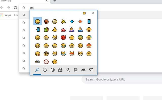 Cara Menggunakan Panel Emoji Baru Pada Google Chrome