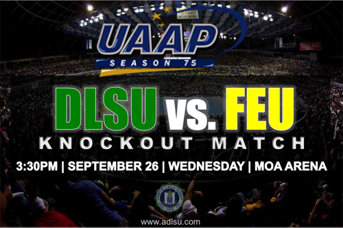 Watch DLSU vs FEU Live Streaming at Studio 23