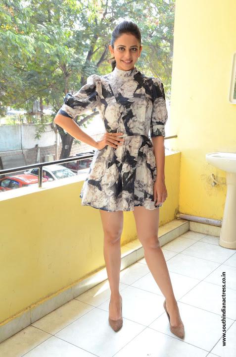 Rakul Preet Singh hot at Khakhee movie interview
