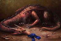 """""""Dragon-Smoked BBQ"""" by K.C. Garza"""