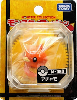 Torchic figure Takara Tomy Monster Collection M series