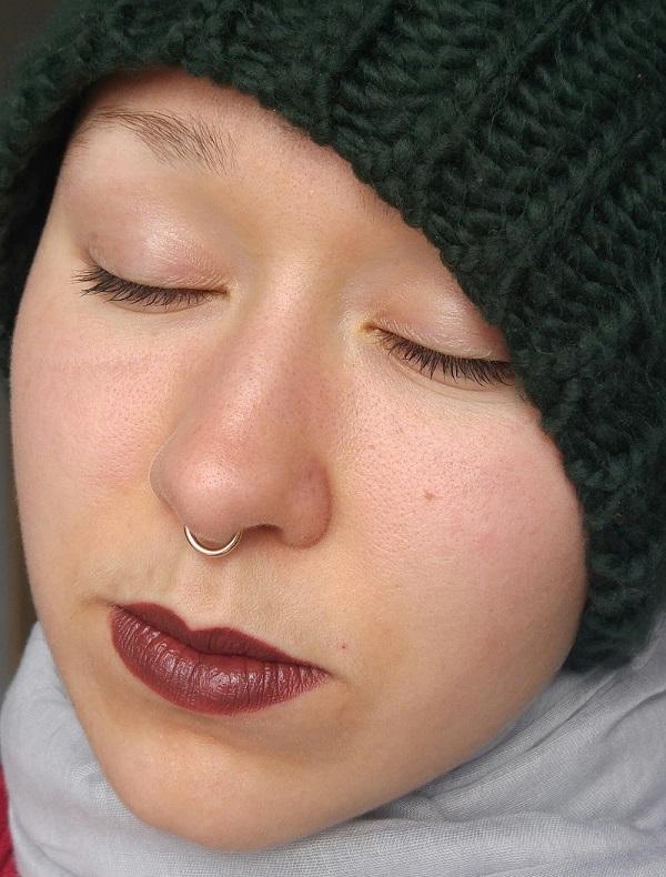 Golden Rose Lipstick - Rouge à lèvres hydratant 159 Marron Doré Swatch | Cookie's Makeup