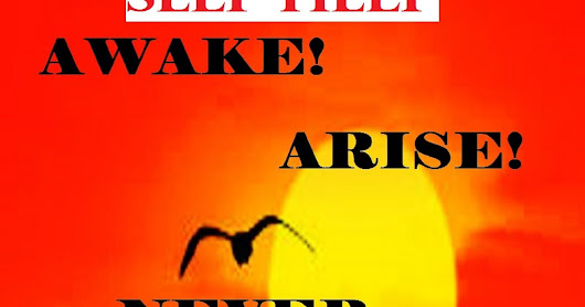 AWAKE ! ARISE! NEVER GIVE UP!: Your success is within you!