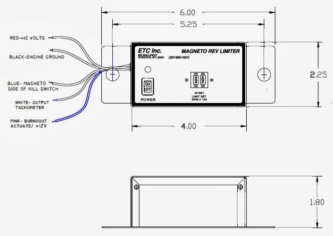 ETC Rev Limiters: High-Range Rev Limiter (12 Volt)