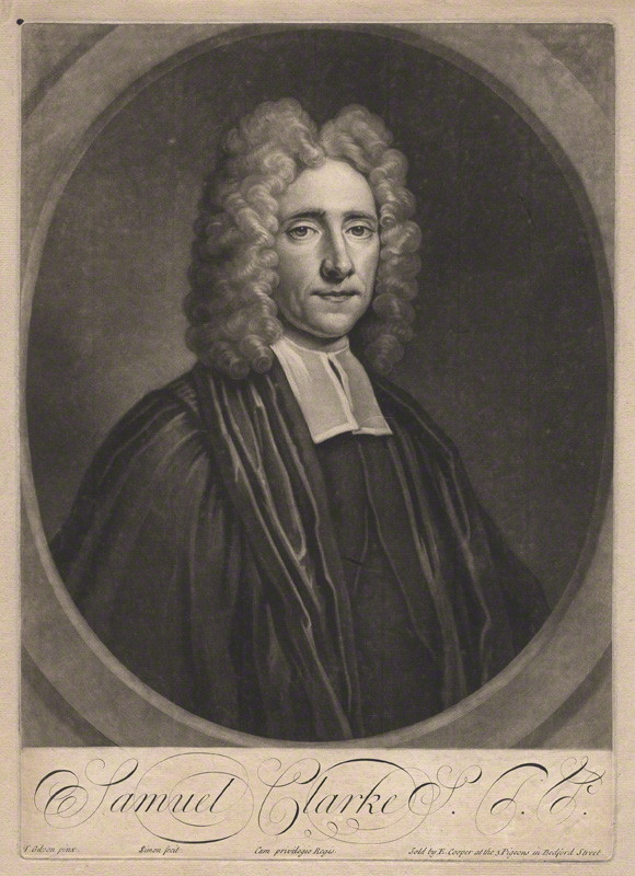 English 18th Century Portrait Sculpture: Samuel Clarke and