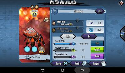 Mutants: Genetic Gladiators Breeding video N°164 (Arachno - Mantidroid)