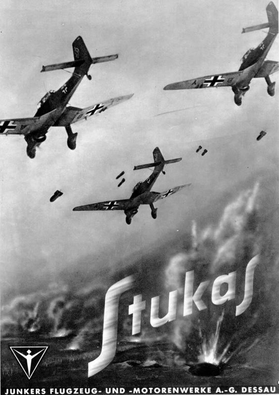 Junkers Ju 87 Fascist airplane ads worldwartwo.filminspector.com
