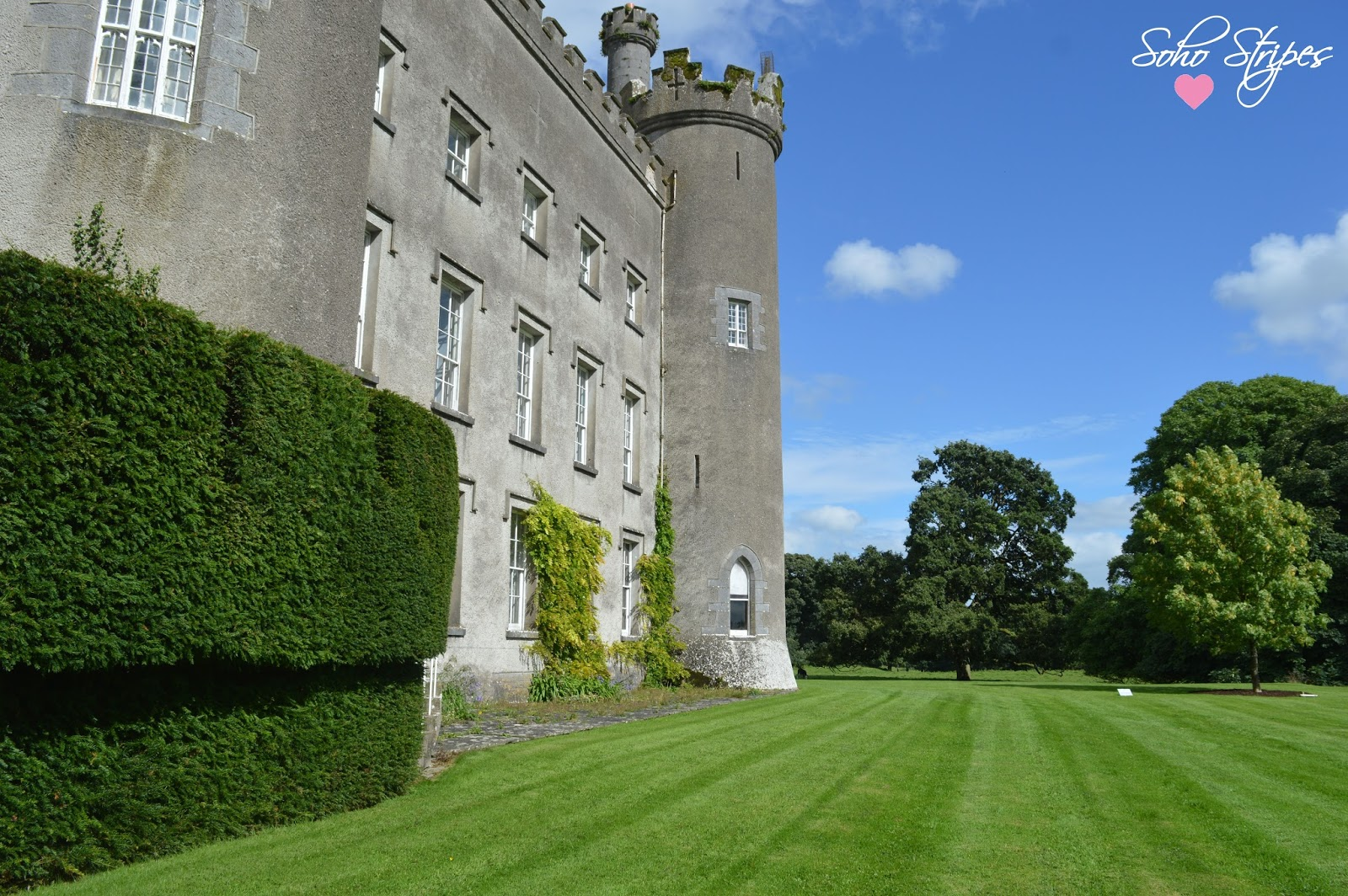 I Want to Live in a Castle | Tullynally Castle Gardens Ireland Westmeath