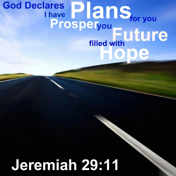 Inspirational Bible Verses Wallpaper – Jeremiah 29:11 – God Has Plans for You