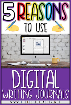 5 Reasons to Use Digital Writing Journals in the Classroom