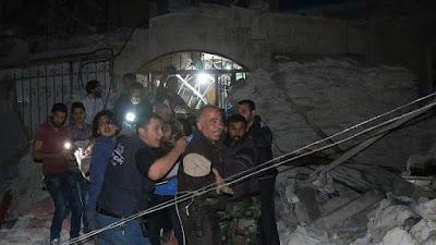 """Serangan Udara Rusia Hantam Rumah Sakit """"Quds"""" di Aleppo, 30 Orang Tewas"""