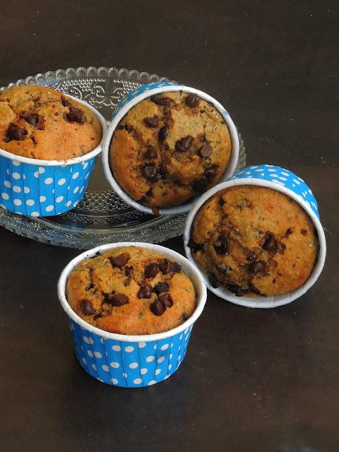 Chia Seeds Rye Muffins