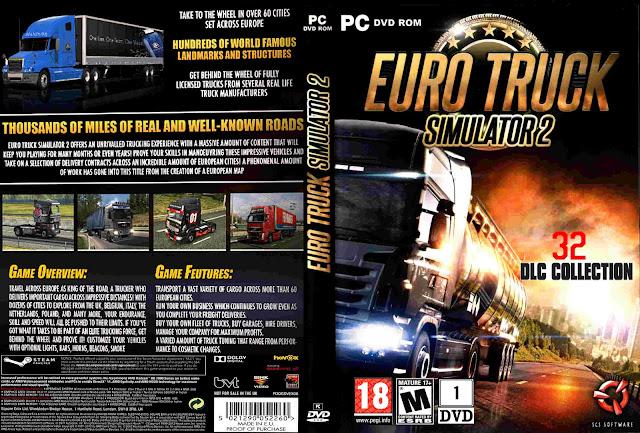 Capa Euro Truck Simulador 2 PC