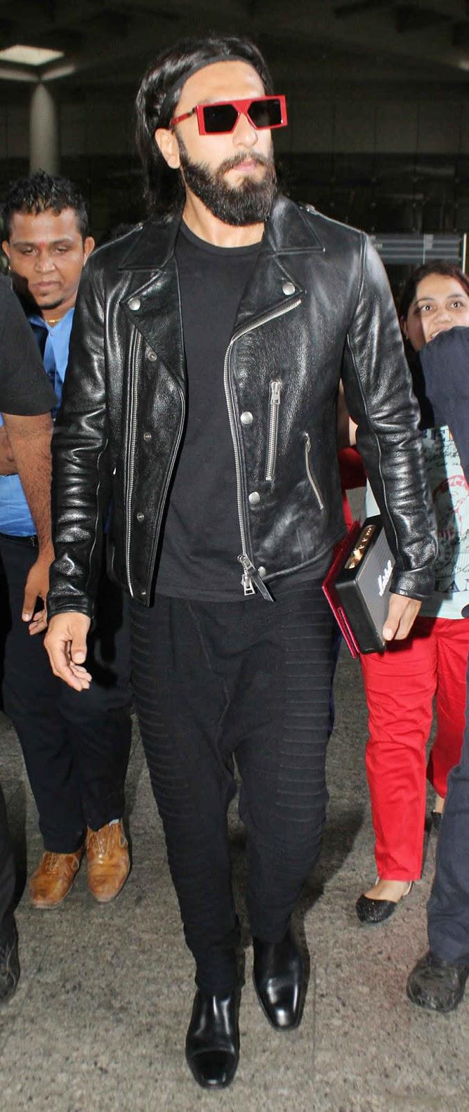 Ranveer Singh at Snapped Mumbai Airport