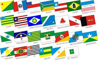 matrizes bandeiras do Estados do Brasil
