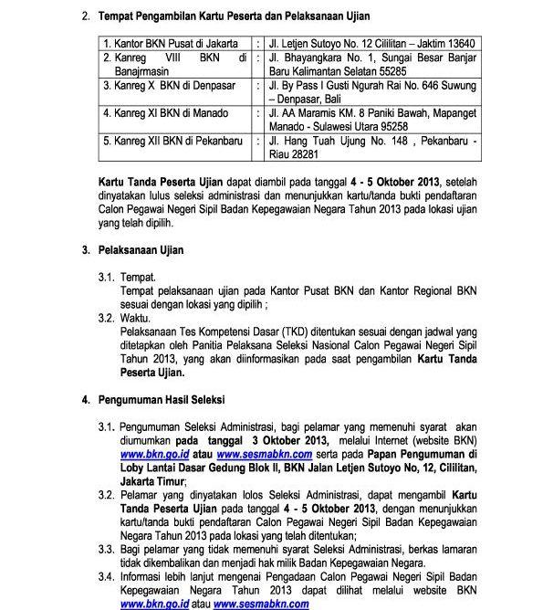 Info Penerimaan Cpns Pemkot Medan 2013 Icefilmsinfo Globolister Hasil Kelulusan Cpns Pemda 2014 Info Cpns 2015 Review Ebooks