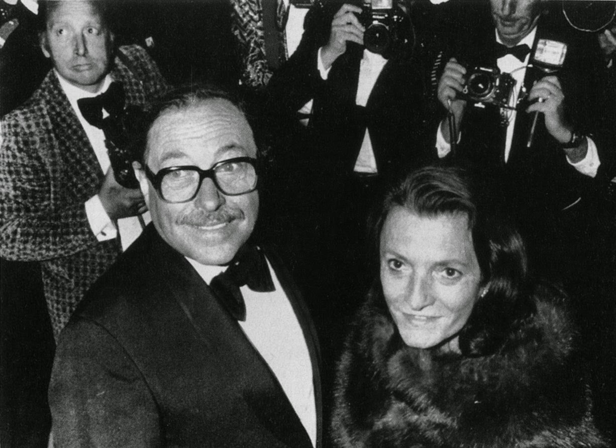Tennessee Williams With Maria St Just At Cannes In 1976