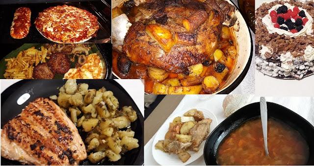meals I've prepared recently - top 6