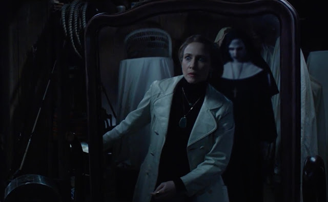 "Vera Farmiga is haunted by demons in ""The Conjuring 2"""