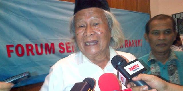 Ridwan Saidi Nilai Psikologi Jokowi Layaknya akan Kalah Pilpres