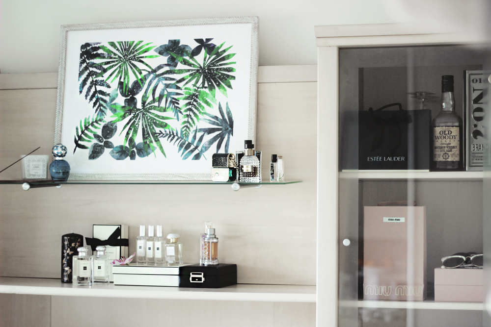 Minted wall art print blogger review tropical home decor