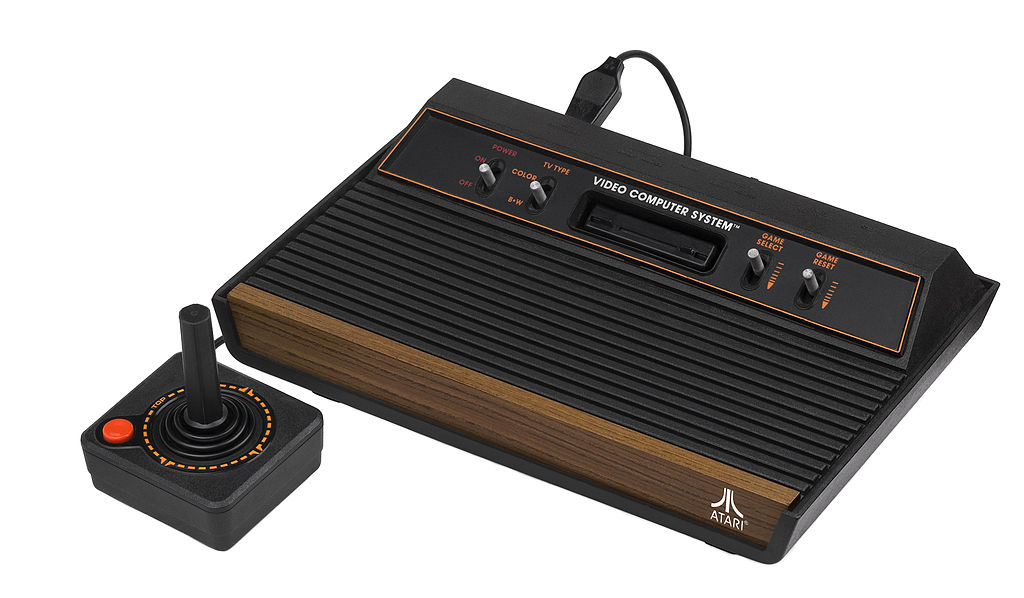 Imagen de la videoconsola Atari 2600