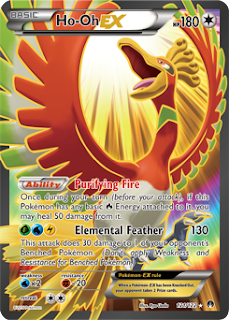Ho-Oh EX BREAKpoint Pokemon Card