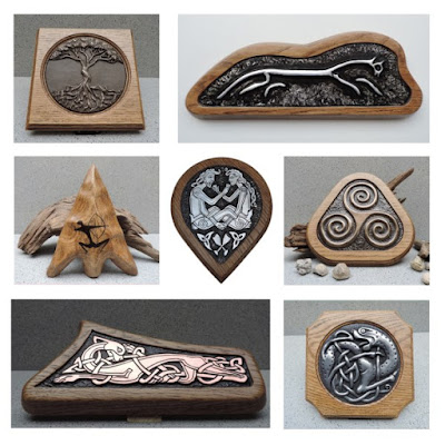Justbod: Celtic, Viking, Anglo Saxon Sculptures Carvings and Artwork