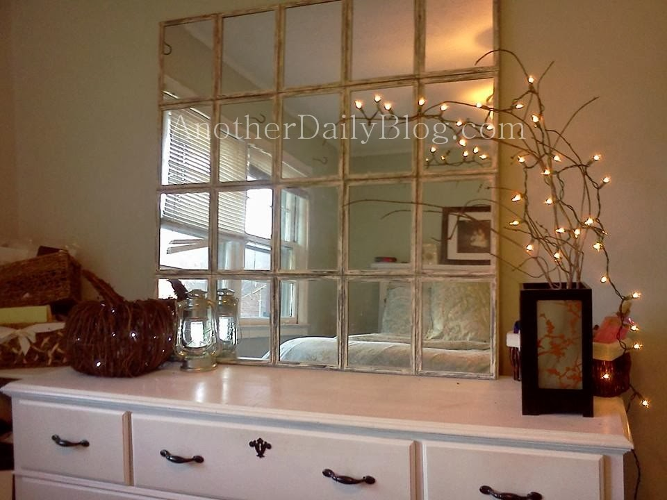 Another Daily Blog: DIY Pottery Barn Knock Off Mirror
