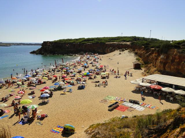 Chiringuito y playa Cala del Aceite