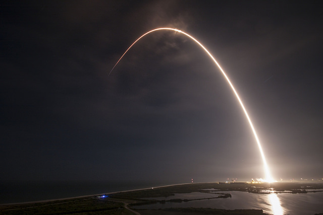 SpaceX successfully launches satellite and lands Falcon 9 rocket