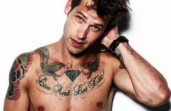 Ποιο είναι το πιο αντρικό σημείο για να κάνεις τατουάζ;