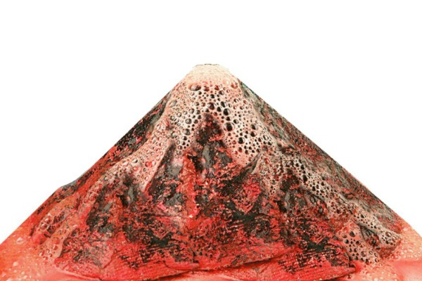 FUN KID PROJECT: Make a SOUND volcano using Pop Rocks!  This is too cool! #volcanoprojectforkids #volcanoproject #volcano #volcanoexperiment #poprocksexperiment #soundvolcano