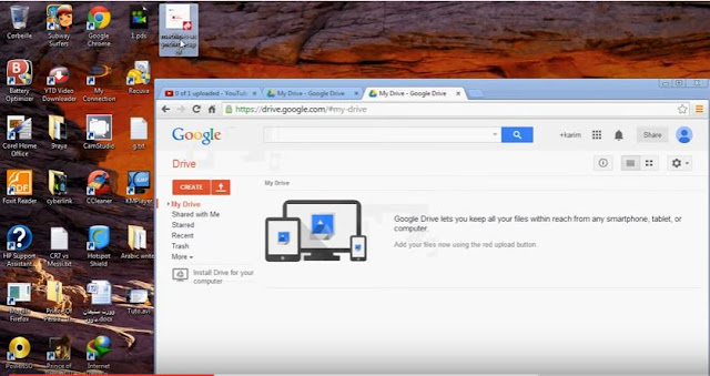 How To Convert pdf to microsoft word via Google Drive